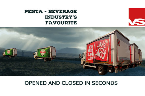 Penta beverage industry's favourite slider solution!